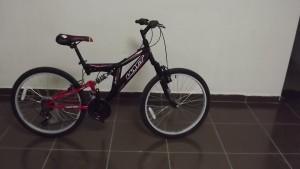 ümit 24 jant amortisörlü bisiklet